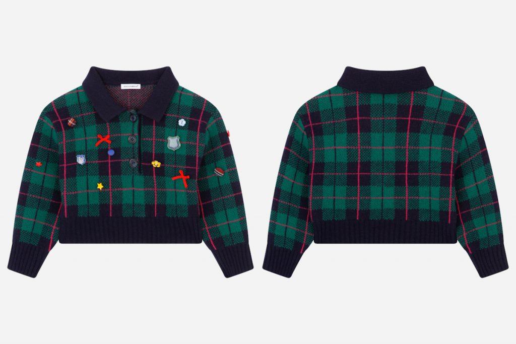 Best Back To School 2021 tartan outfits from D&G green tartan jacket