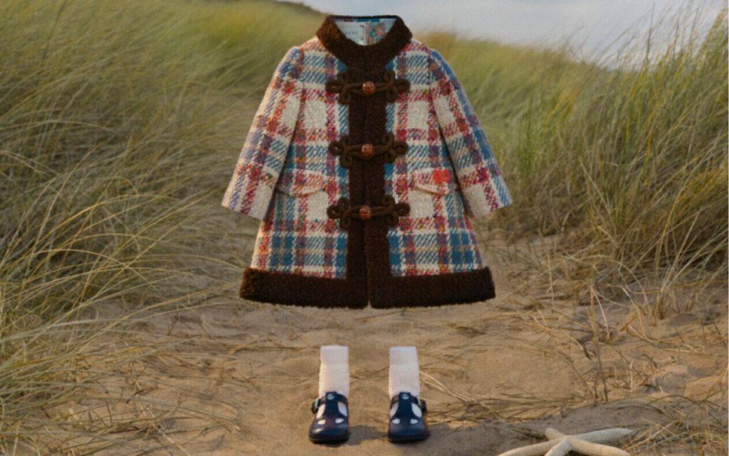 Best Back To School 2021 tartan outfits from Gucci beige tartan coat