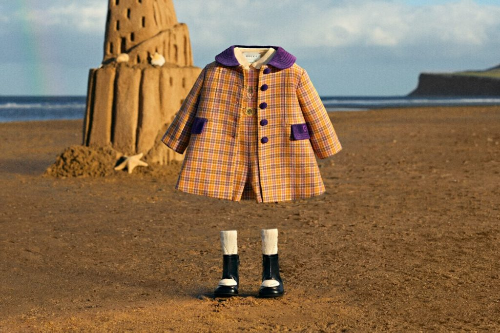 Best Back To School 2021 tartan outfits from Gucci orange purple tartan coat