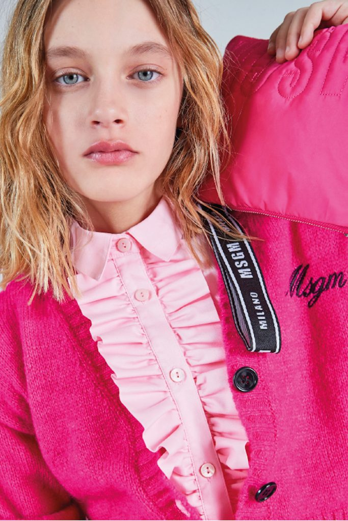 MSGM kids fall winter 2021/2022 by Daddato inspired by MSGM adult line